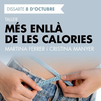 banner Taller: més enllà de les calories