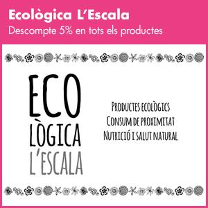 banner Ecològica L'Escala