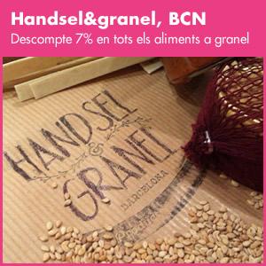 banner Handsel&granel. Barcelona