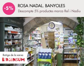 banner Rosa Nadal. Banyoles