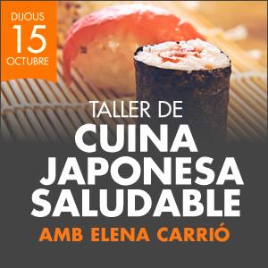 banner TALLER DE CUINA JAPONESA SALUDABLE