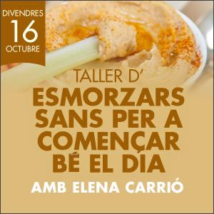 banner TALLER D'ESMORZARS SANS PER COMENÇAR BÉ EL DIA