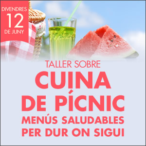 banner Cuina de pícnic: Menús saludables per dur on sigui
