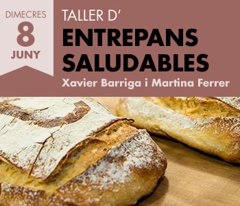 banner TALLER D'ENTREPANS SALUDABLES