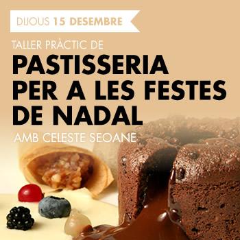 banner TALLER PRÀCTIC DE PASTISSERIA PER A LES FESTES DE NADAL