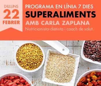 banner Programa en línia 7 dies Superaliments