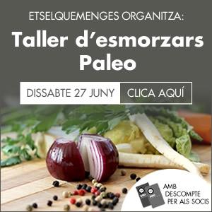 banner Taller d'esmorzars Paleo