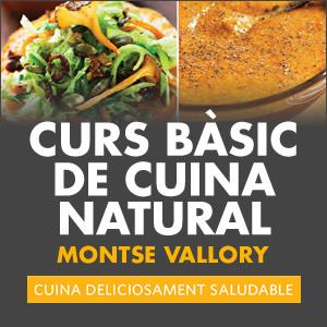 banner Curs bàsic de cuina natural amb Montse Vallory