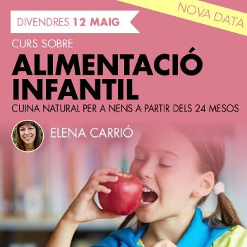 banner Alimentació infantil Cuina natural per a nens a partir dels 24 mesos