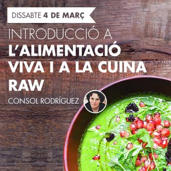 banner Introducció a l'alimentació viva i a la cuina raw