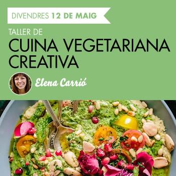 banner Taller de Cuina vegetariana creativa